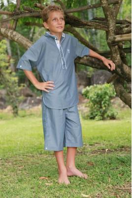 Pyjama Garçon Clotaire Chambray