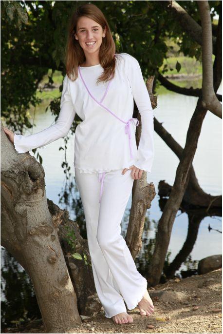 Pyjama Fille Sidonie rose