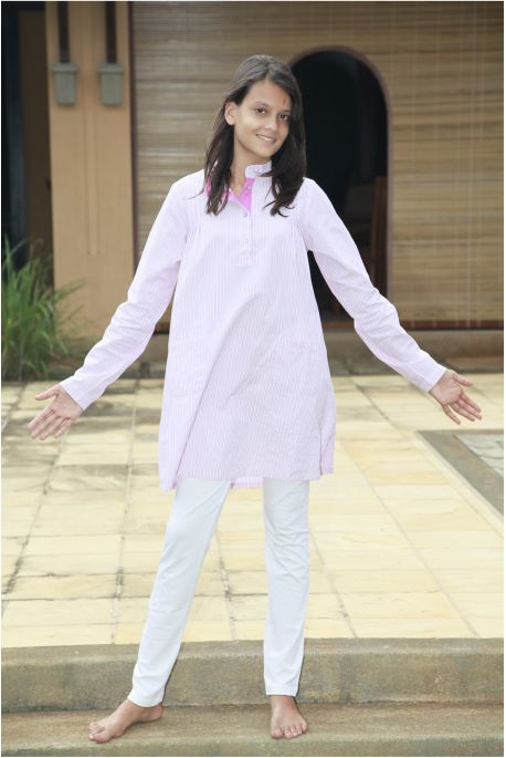Pyjama Fille Sybille Rose