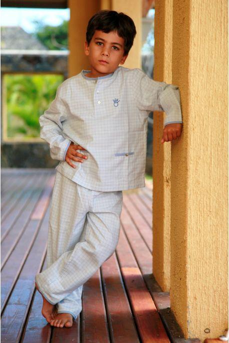 Pyjama Garçon Carreaux Gregoire