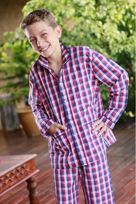 Pyjama Garçon Écossais Louis