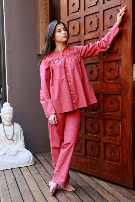 Pyjama Fille Bianca corail