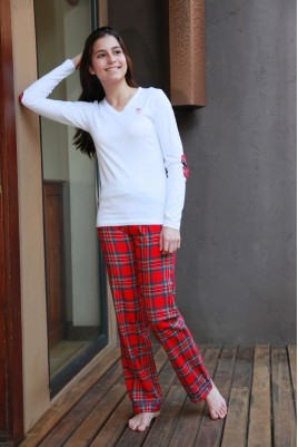 Pyjama Fille Victoire ecossais