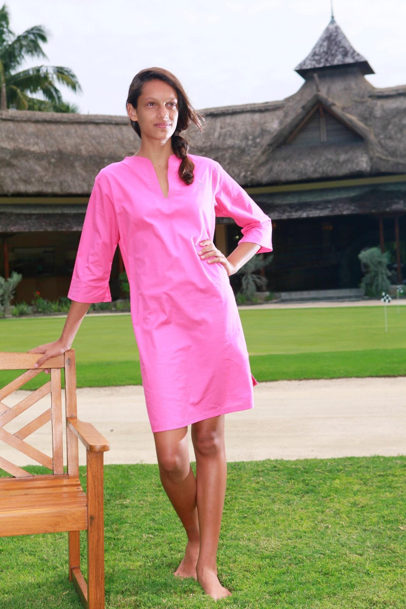 chemise de nuit fille nora voile fuchsia l 39 orangerie. Black Bedroom Furniture Sets. Home Design Ideas