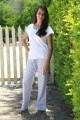 Pyjama Long Femme Cerise