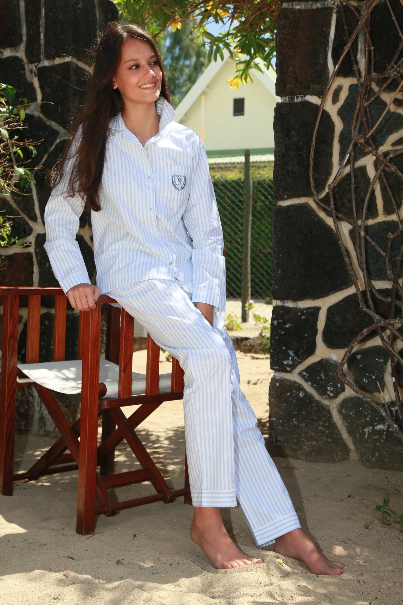 pyjama femme classique gloria l 39 orangerie. Black Bedroom Furniture Sets. Home Design Ideas