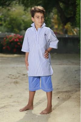 Pyjama ciel court pour garçon Lucien