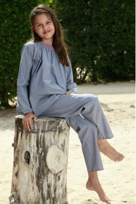 pyjama fille l 39 orangerie l 39 orangerie. Black Bedroom Furniture Sets. Home Design Ideas