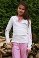 Pyjama fuchsia pour fille et ado