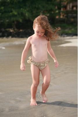 Maillot de bain Fille Culotte Ficelle 46
