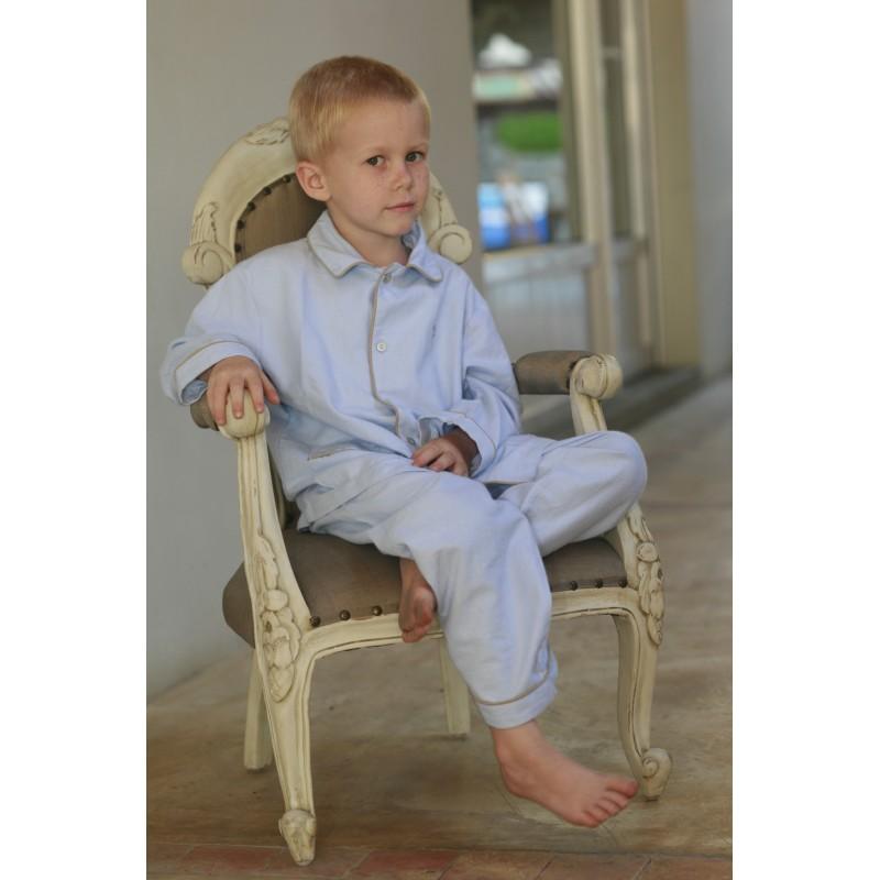 pyjama garcon hector twill l 39 orangerie. Black Bedroom Furniture Sets. Home Design Ideas