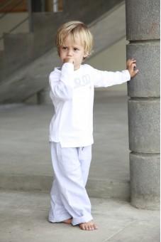 pyjama bébé gonzague rayures pyjama petit garçon