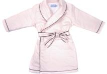 Robe de chambre fille étoile rose