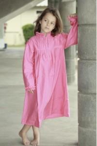 chemise-de-nuit-fille-bernadette-fuchsia