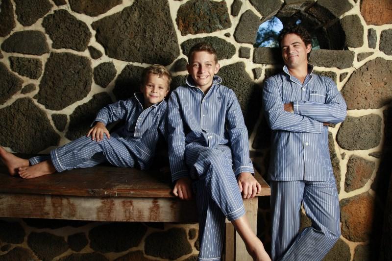 les produitsla collection de pyjamas p re fils l 39 orangerie. Black Bedroom Furniture Sets. Home Design Ideas