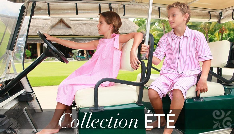 Pyjama été fille et garçon - collection pyjama été