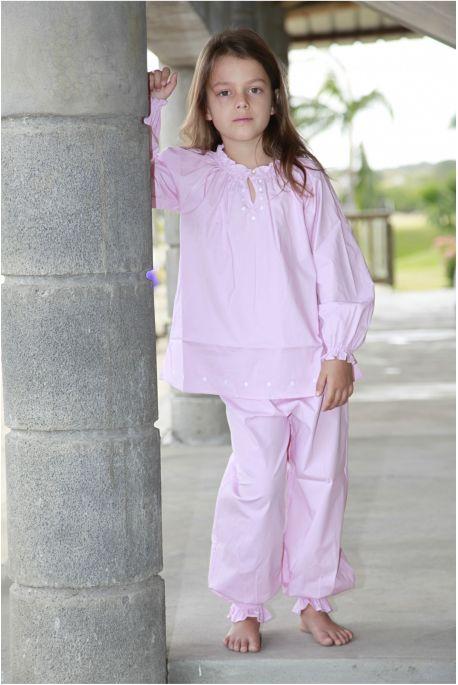Pyjama Fille Ines Rose