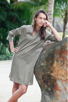 Chemise de Nuit Femme Nora Choco