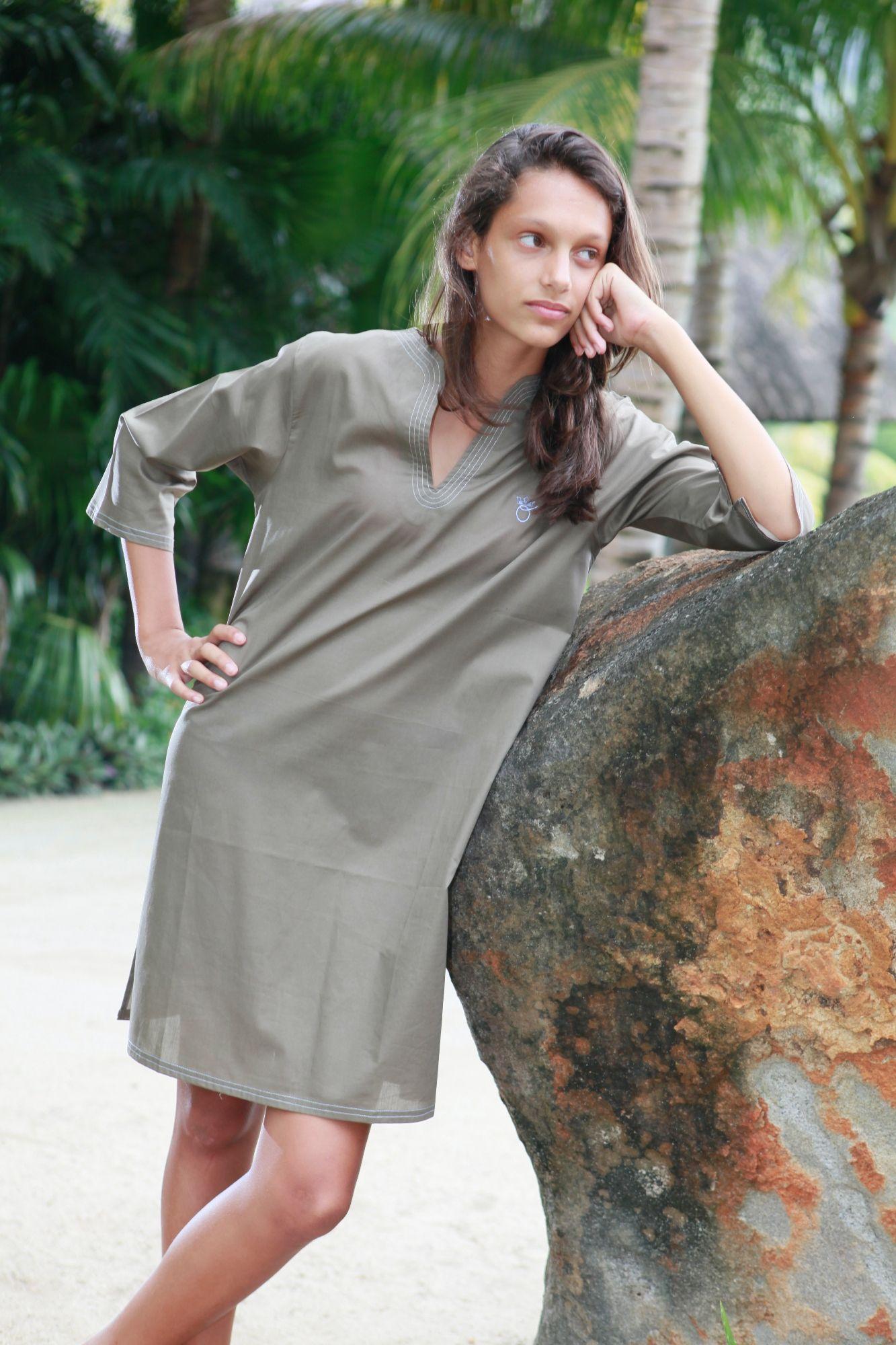 chemise de nuit femme nora choco l 39 orangerie. Black Bedroom Furniture Sets. Home Design Ideas