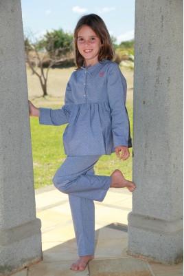 Pyjama Fille Ciel Brunette