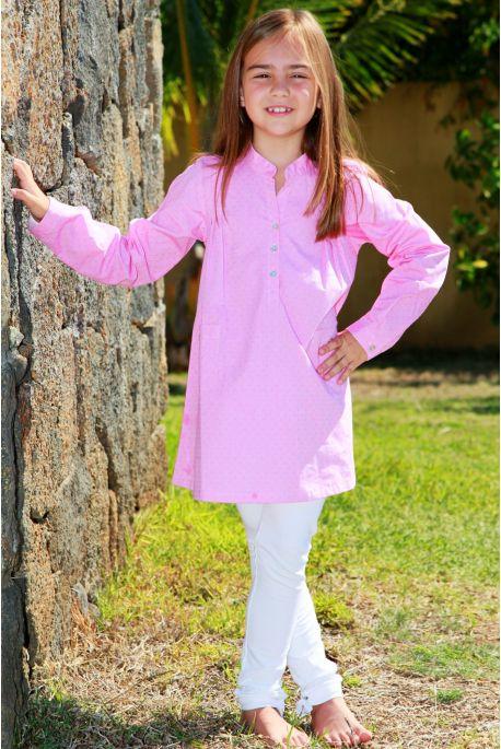 Pyjama Fille rose Sibylline