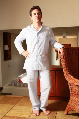 Pyjama Homme Harry rayure ciel