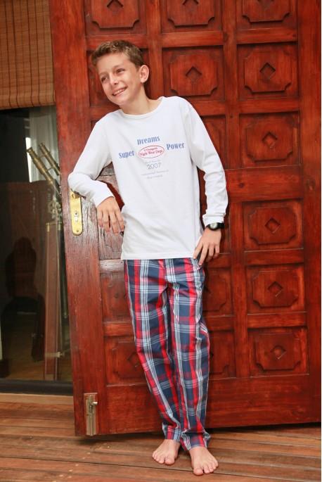 Pyjama Garçon Gonzague Ecossais