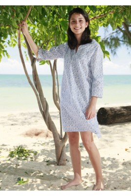 Printed ladies' nightshirt