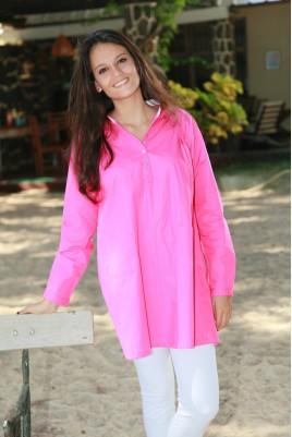 Donker roze Pyjama voor dames