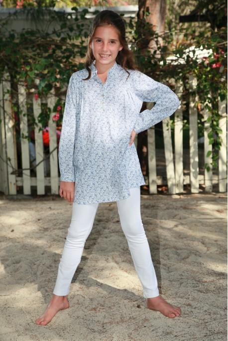 Witte effen Pyjama voor meisjes