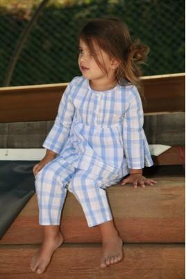 Hemelsblauw Pyjama voor meisjes