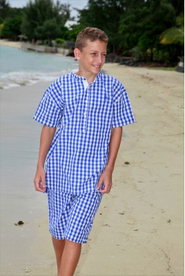 Blue checks Boys' Pyjamas