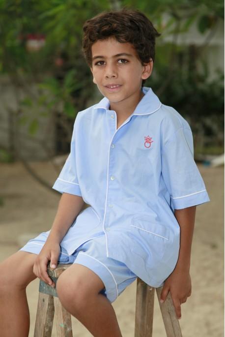 Hemelsblauw Pyjama voor jongens Ulrich