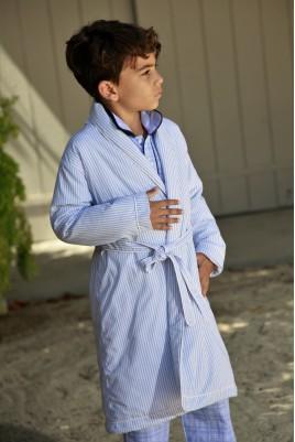 Robe de chambre ciel garçon 2 4 6 ans