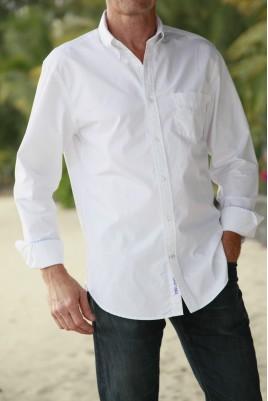 Chemise Blanche pour Homme Hampton