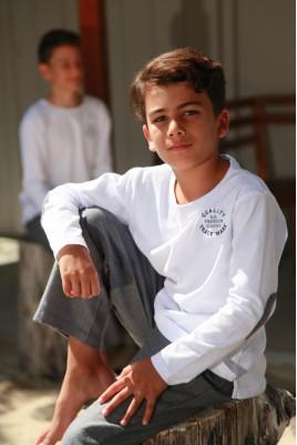 Grijs Pyjama voor jongens Gonzague Jr