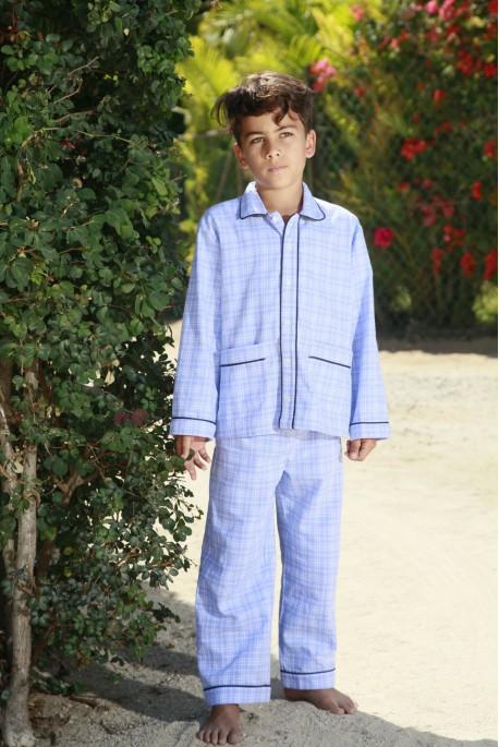 Pyjama long ciel Garçon Louis