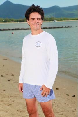 Pyjama pour Homme Gaston ML Oxford Ciel