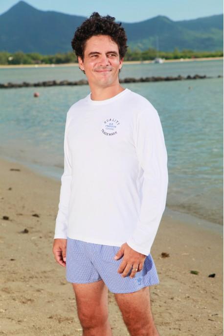 Pyjama pour Homme Gaston ML carreau bleu