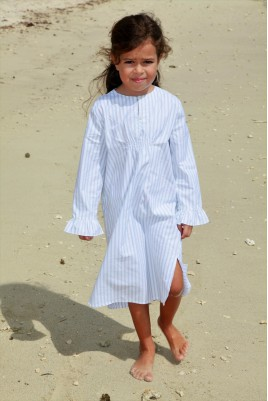 Sky Blue Girl's Nightshirt