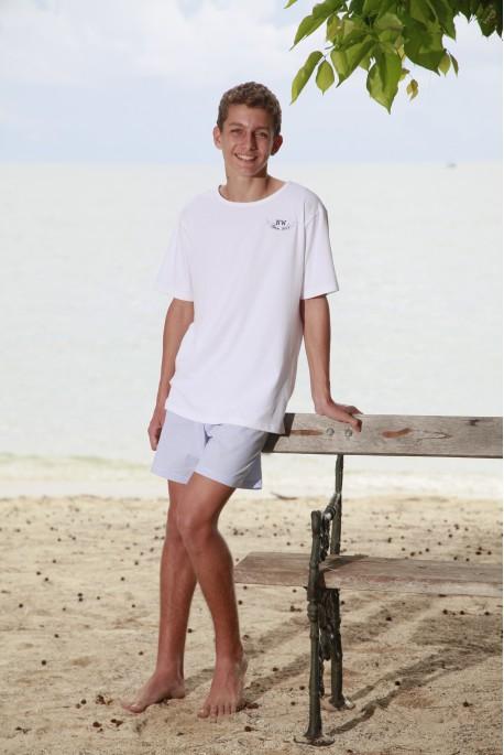 Pyjama Court Ciel Garçon Junior Père&Fils
