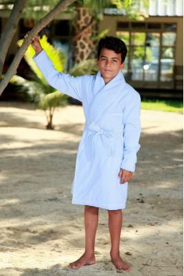 Robe de Chambre Rayure Ciel pour Garçons Etoile