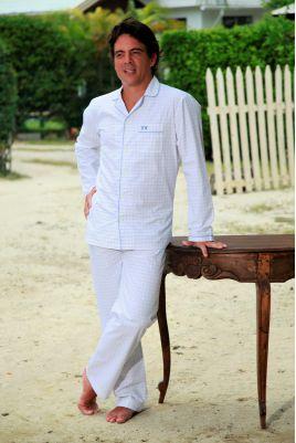 Pyjama Long pour homme à carreaux Charles