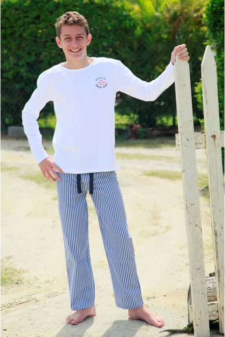 Pyjama Hiver Long pour Garçon Gonzague