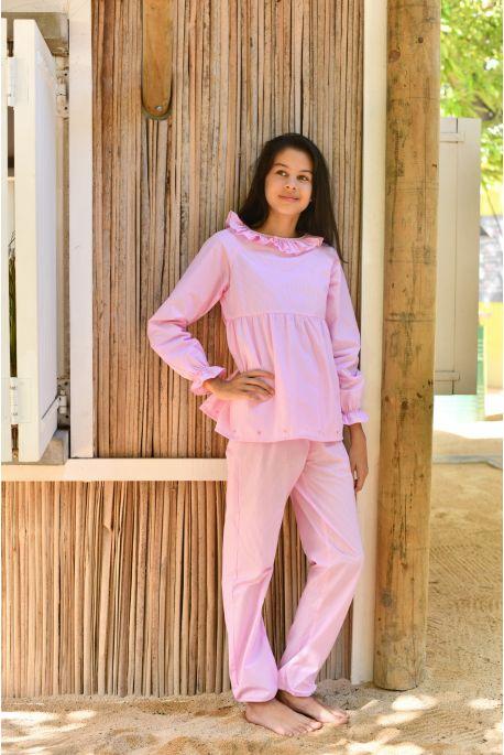 Pyjama Long pour Fille Castille