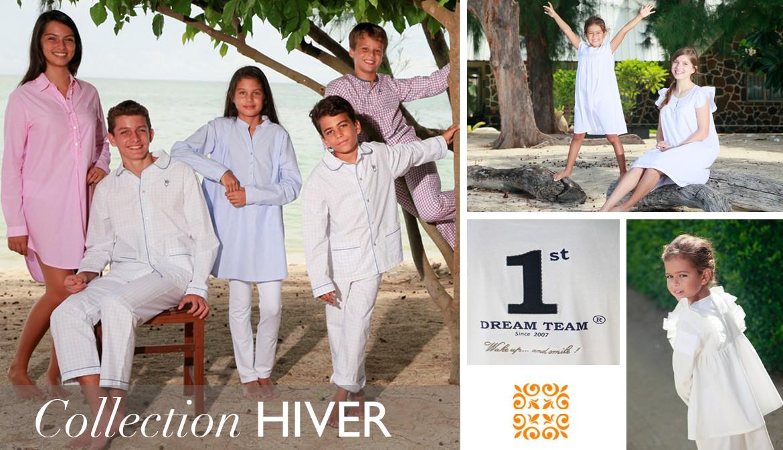 Pyjamas, Chemises de Nuit et robe de chambre en coton pour filles, garçons, femmes et hommes,. Découvrez la collection L'Orangerie. Frais de Port offerts à partir de 100€