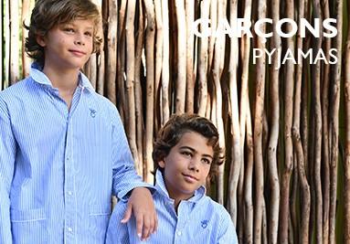 Pyjamas pour garçons L'Orangerie.