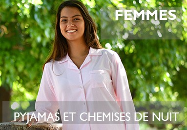 Collection de pyjamas & chemises de nuit élégants pour Femmes